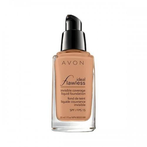 Ideal Flawless Base de Maquillaje Líquida Cobertura Invisible